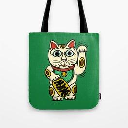 Maneki-neko Tote Bag