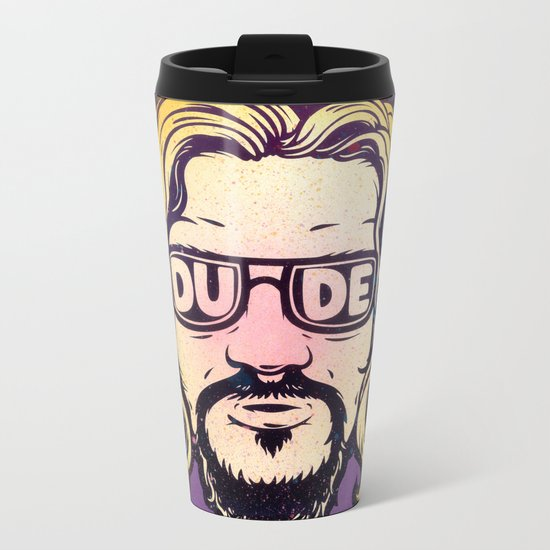 Dude Metal Travel Mug