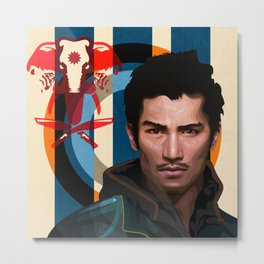 Far Cry 4 - Ajay Ghale Metal Print