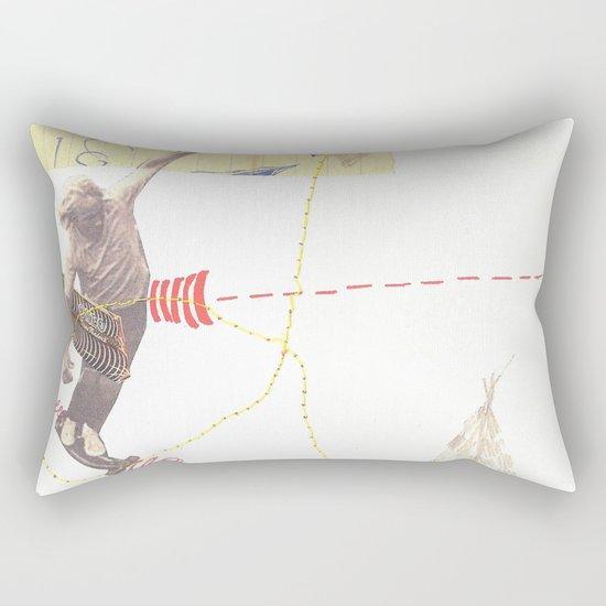"""""""going nowhere fast"""" Rectangular Pillow"""