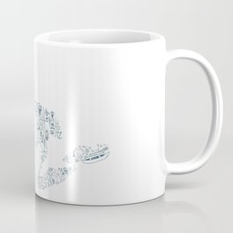 Great Lakes Up North Collage Coffee Mug