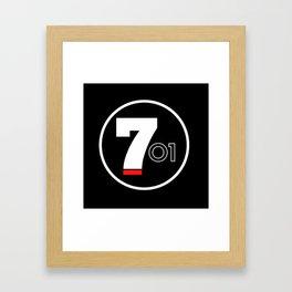 701 - El Chapo Framed Art Print