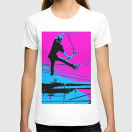 The Tail-Grab Scooter Stunt T-shirt
