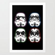 Kiss Troopers Art Print