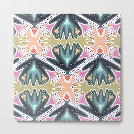 Eden Leaf Metal Print