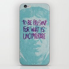 A PERSONAL MOTTO iPhone & iPod Skin