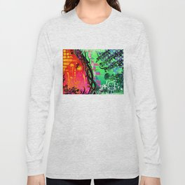 """""""ACTION EXPRESSES PRIORITIES"""" Long Sleeve T-shirt"""