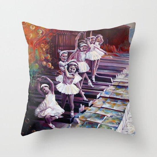 Satie Throw Pillow