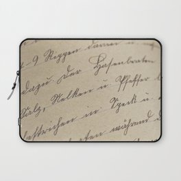 Scripted Laptop Sleeve