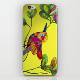 Color Bird iPhone Skin