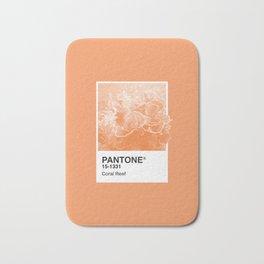 Pantone Series – Coral Reef Bath Mat