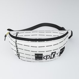 MASK wh Fanny Pack