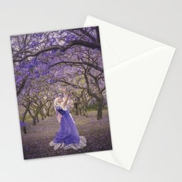 Dance of the Jacarandas Stationery Cards