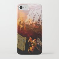 pirates iPhone & iPod Cases featuring Pirates  by valzart