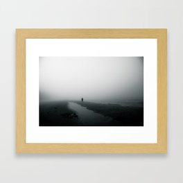 vast stillness Framed Art Print