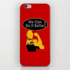 Sigma Lambda Upsilon (We Can Do It Better) iPhone & iPod Skin
