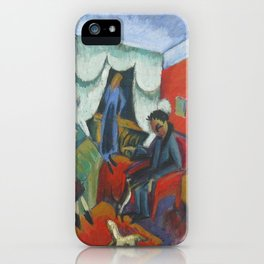 Ernst Ludwig Kirchner Interieur 1915 iPhone Case