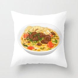 Soto Betawi Throw Pillow