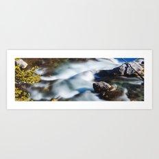 Beautiful Waterfall in Canada Art Print