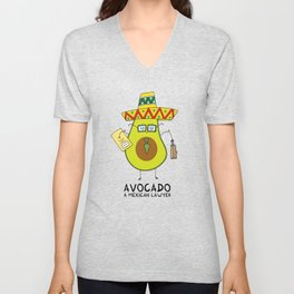 Avocado - A mexican lawyer Unisex V-Neck
