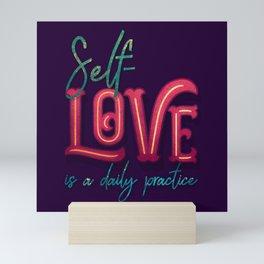 Kelly-Ann Maddox Collection :: Self-Love (Simple) Mini Art Print