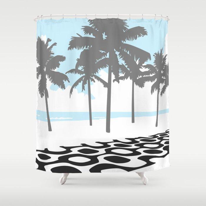 Praia de Ipanema. Shower Curtain