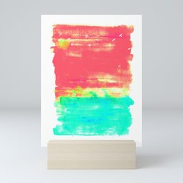 Magenta Sky Mini Art Print