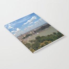 Budapest /Danube River/ Summer/ sunshine Notebook