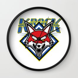 K-RocK LOGO Wall Clock