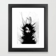 Coiling and Wrestling. Dreaming of You Framed Art Print