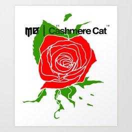 CASHMERE CAT TOUR 2018 Art Print