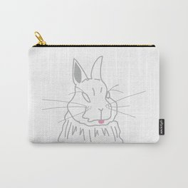 Cheeky Rabbit Carry-All Pouch