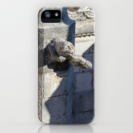 Gargoyle tower of Belem iPhone Case