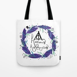 Master of Death White Tote Bag