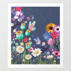 The Meadow Art Print