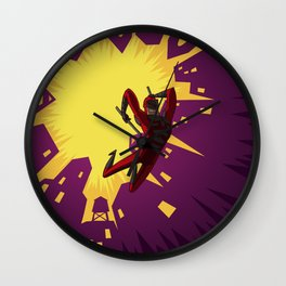 Daredevil Jump Wall Clock