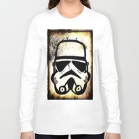 trooper Long Sleeve T-shirts featuring Trooper by Cyndi Sabido