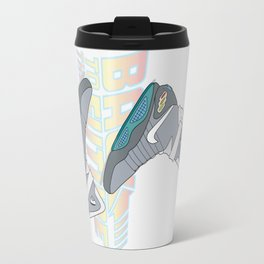 Back to future shoes Travel Mug