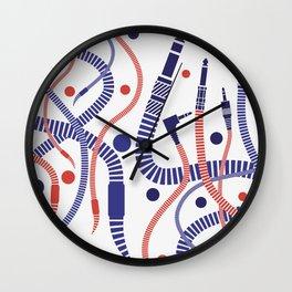 Jackworms Wall Clock