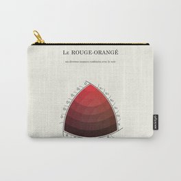 Le Rouge-Orangé (ses diverses nuances combinées avec le noir) Remake (Interpretation) Carry-All Pouch