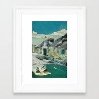 sydney Framed Art Prints featuring Sydney by Martin Carri