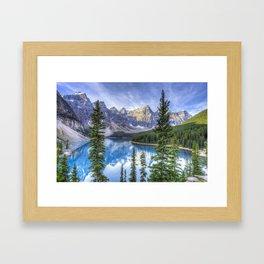 Moraine Lake #landscape #photography Framed Art Print