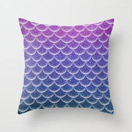 Dream Sky Fish Throw Pillow