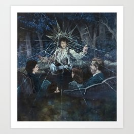 Crying in the Chapel Art Print
