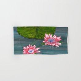 Water Lilies 2 Hand & Bath Towel