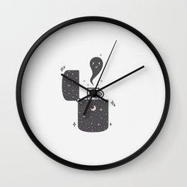 Halloween in a lighter Wall Clock