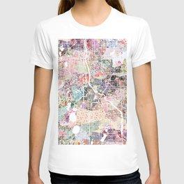 Minneapolis map - Landscape T-shirt