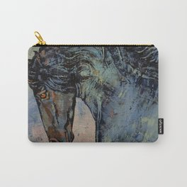 Friesian Stallion Carry-All Pouch