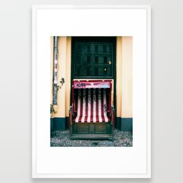 Throne for a Prince Framed Art Print