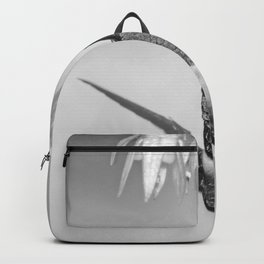 Hummingbird (Black and White) Backpack